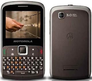 numero privado no Motorola EX 115