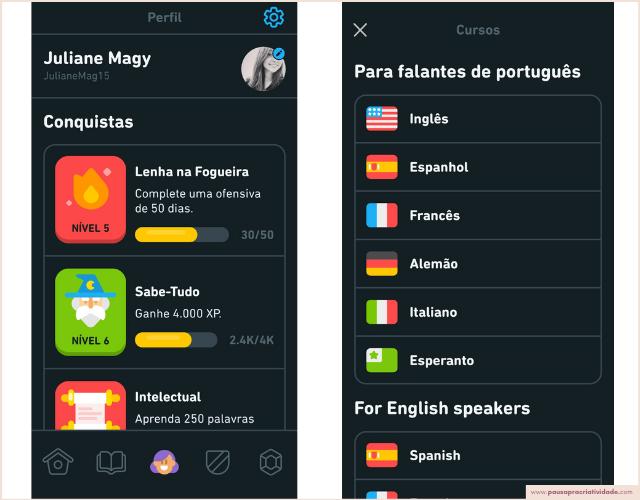 Como aprender inglês com o Duolingo - Minha experiência