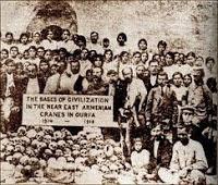 the massacre of Armenians in World War I