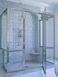 Glass and Metal Shower Сabin