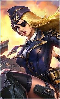 Lesley Black Rose Admiral Heroes Marksman Assassin of Skins V3