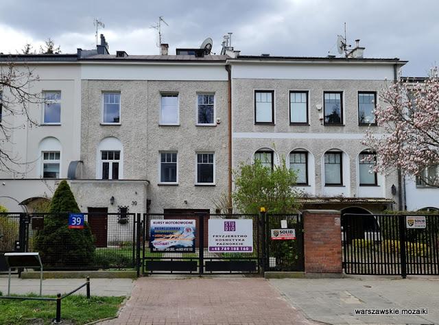 Warszawa Warsaw Saska Kępa warszawskie ulice Praga Południe architektura architecture warsaw street