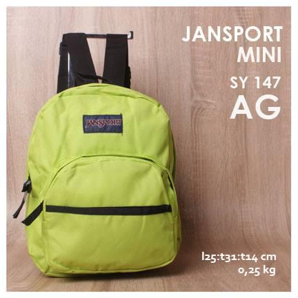 Jual Online Tas Ransel Jansport Mini Motif Dan Polos