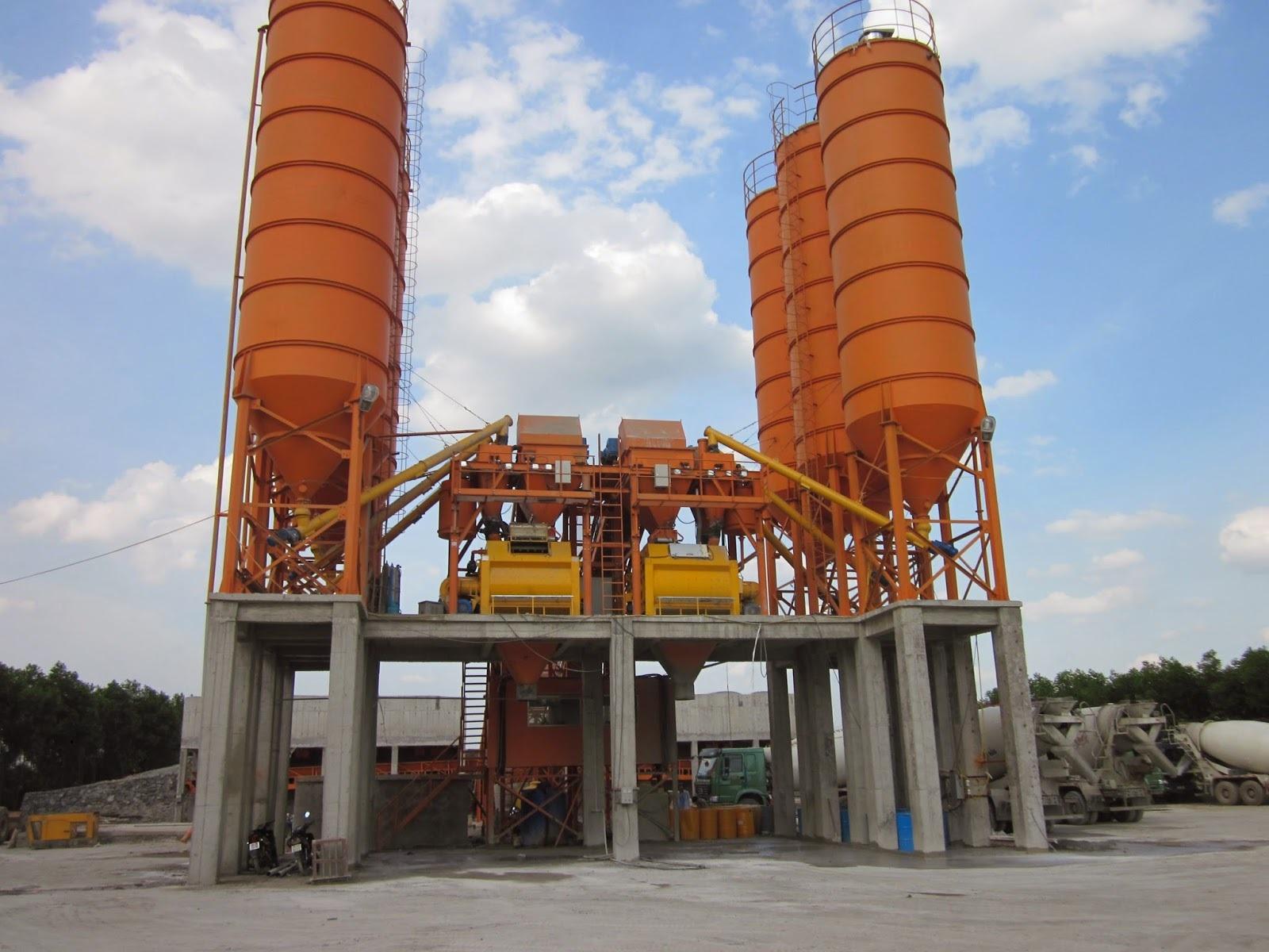 Bê tông là lĩnh vực hoạt động chính của công ty.
