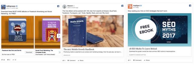 desain format iklan facebook