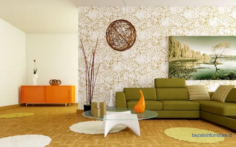ide wallpaper dinding untuk dkorasi ruang sempit terlihat lebih luas