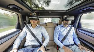 Holoride: Play VR on Your Future Car's Backseat, Turn Car in a moving VR-3D Theme Park