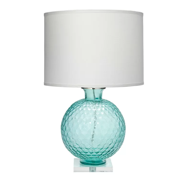 Jamie Young seaglass clark table lamp