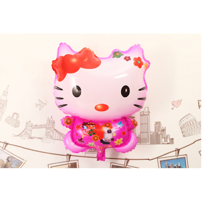 Balon Foil Karakter Hello Kitty
