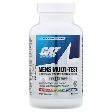 GAT Mens Multi+Test, 90 tablet(s), Unflavoured