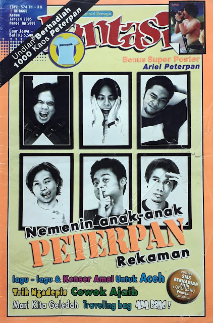 TABLOID FANTASI: NEMENIN ANAK-ANAK PETERPAN REKAMAN