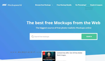 A mockup generator is an online browser based tool which allows you to create product mockups without any third party software, such as photoshop. 14 Situs Untuk Download Mockup Gratis Untuk Para Desainer Wsm Project