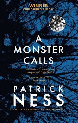 A Monster Calls by Patrick Ness cover