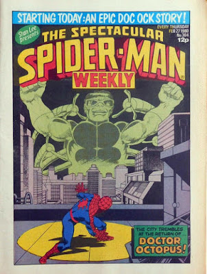 Spectacular Spider-Man Weekly #364, Dr Octopus