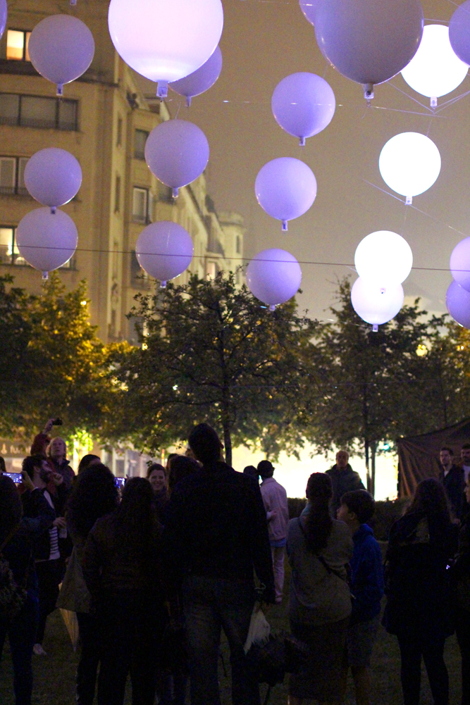 White Night in Bilbao, Spain - London travel blog