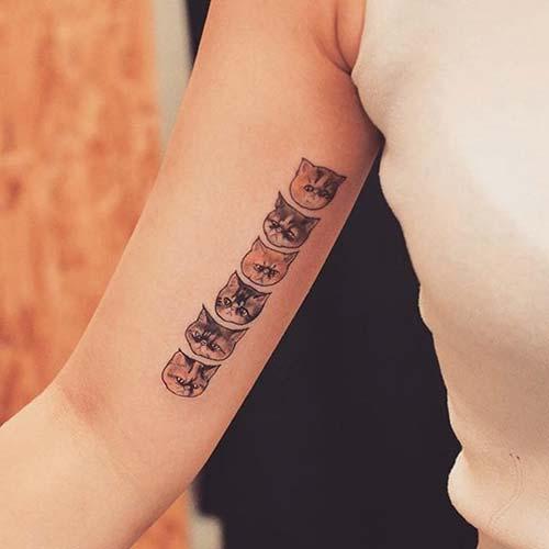 kedi dövmeleri cat tattoos 9