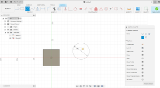 create diameter circle