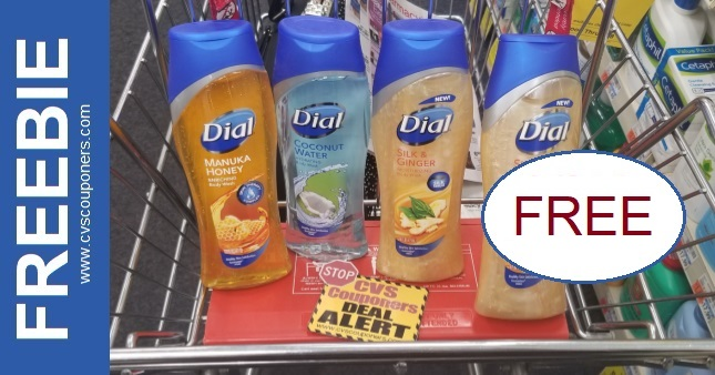 FREE Dial Body Wash CVS Deal 2-7-2-13