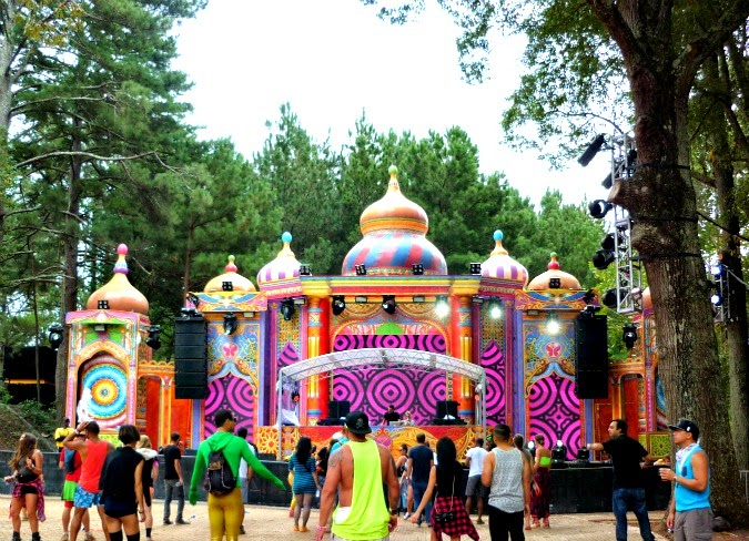 Anthem Stage TomorrowWorld 2014