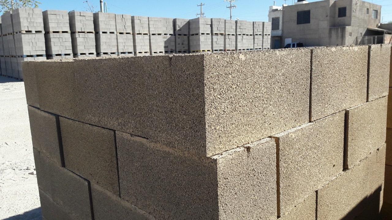 block de concreto de colores