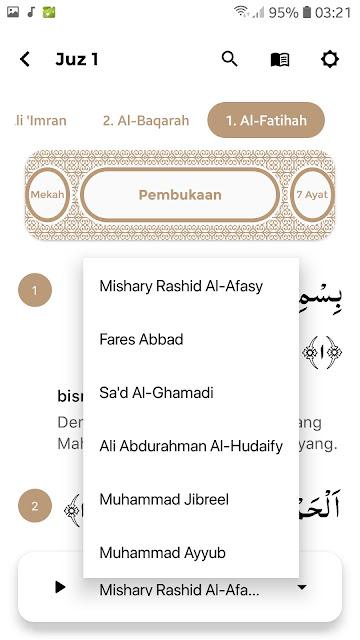 Aplikasi Al-Qur'an Android Studio