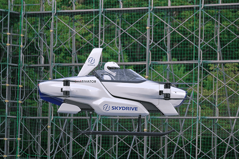 SkyDrive Inc.'s prototype flying car from Japan takes first flight