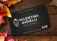 Logo Vinci gratis card da 50€ Valentina Gioielli