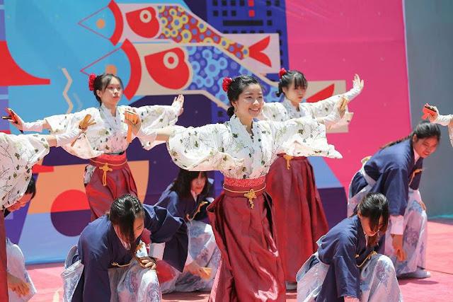 Tham dự trình diễn múa Yosakoi