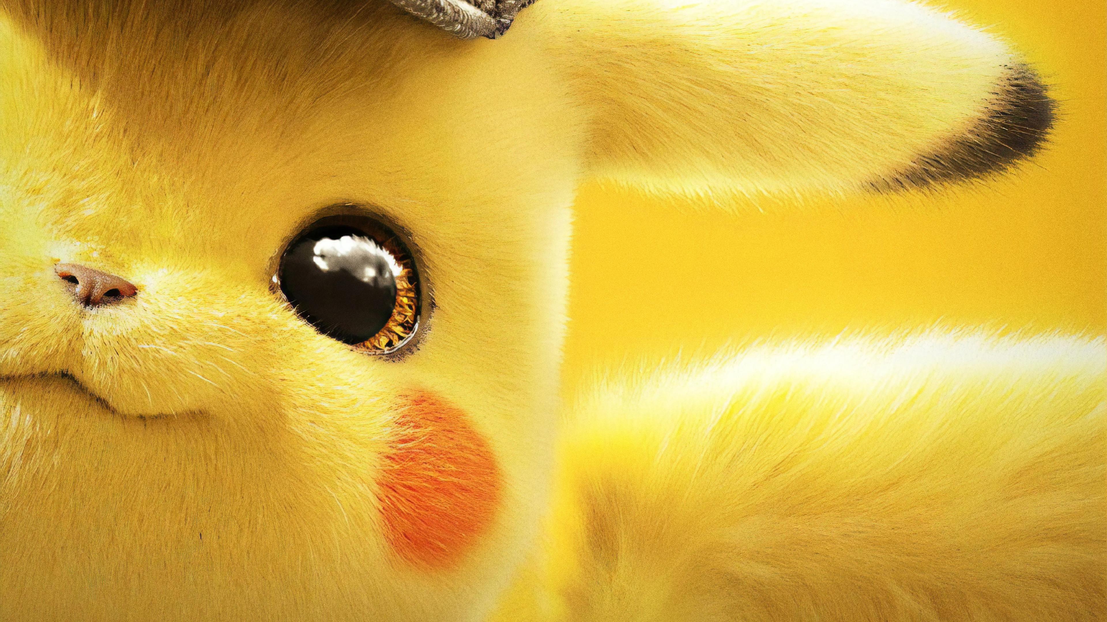 Detective Pikachu, 4K, #54 Wallpaper