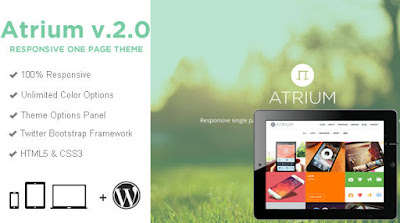Download Atrium v2.1.0 One Page Parallax WordPress Theme