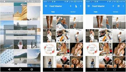 Aplikasi instagram planner - feed master
