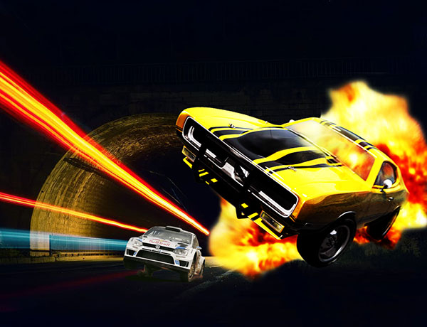 fire in car racing car me aag photo download