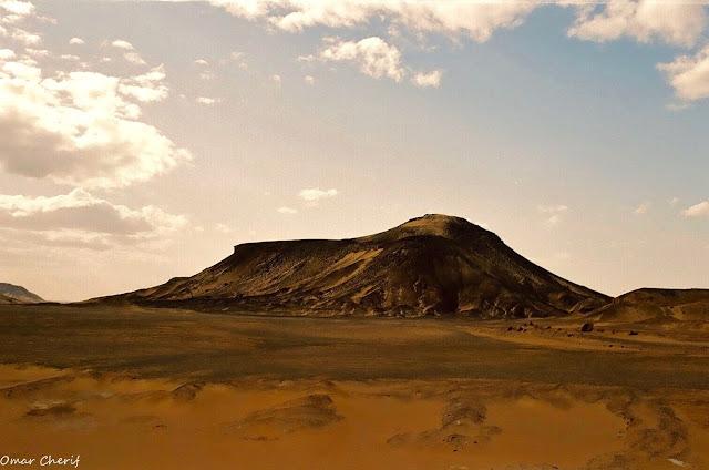 The Black Desert by Omar Cherif, The Guardian Angels of the White Desert, One Lucky Soul