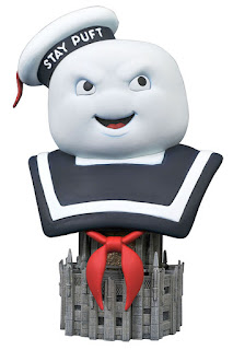 Toy Fair 2020 Diamond Select Ghostbusters 3D bust Stay Puft 1
