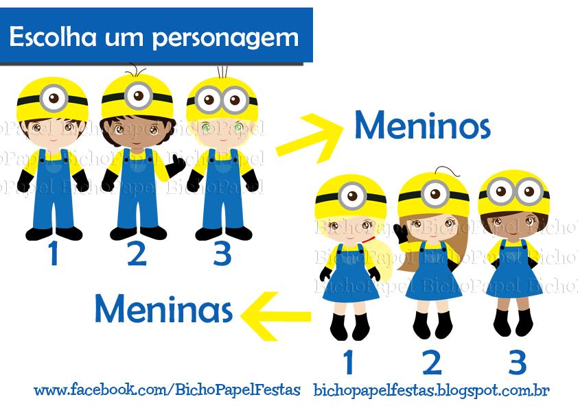 Kit Festa Minions