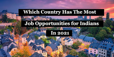 job opportunities for Indians