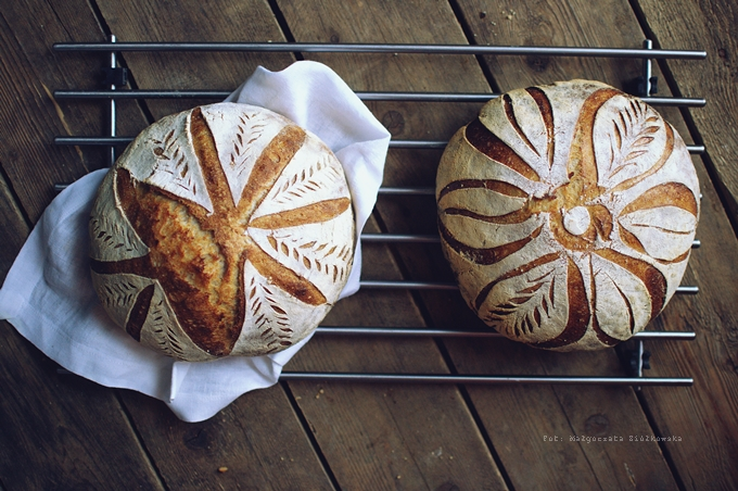 Chleb pszenno razowy na zakwasie