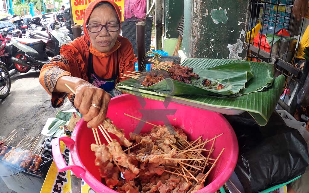 Kuliner Jogja Sate Kere Pasar Beringharjo