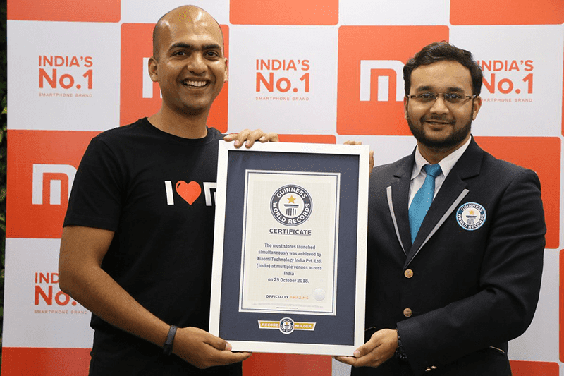 Xiaomi opened 500+ Mi Stores simultaneously, sets a new Guinness World Record