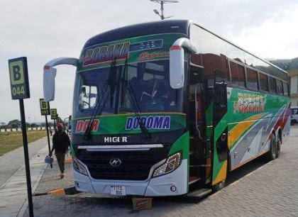 Super Baraka Dodoma To Dar es salaam Bus Contact & Booking