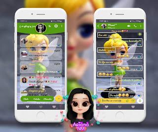 Tinker Bell Girls Theme For YOWhatsApp & Fouad WhatsApp ByAriana