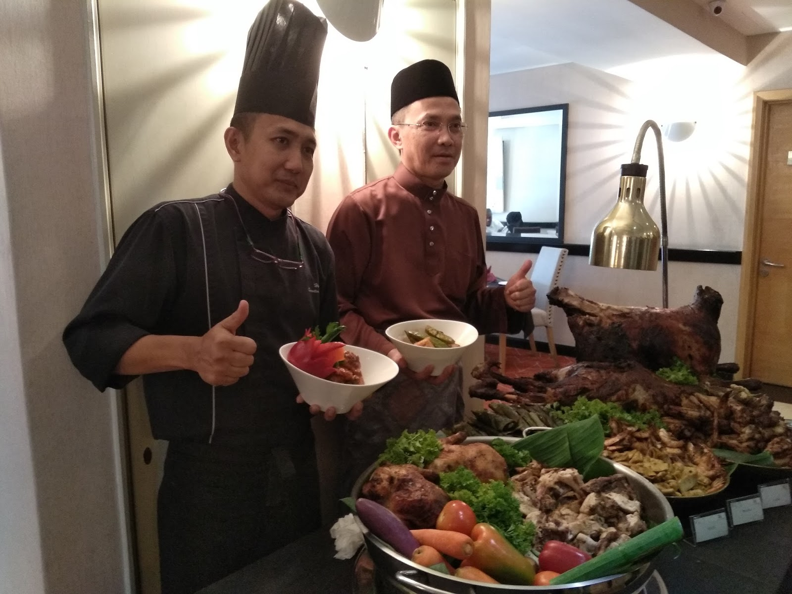 Buffet Ramadan 'Nostalgia Ramadan 2018' di PNB Perdana On The Park.