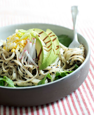 Black Sesame Noodle Bowl Recipe