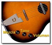 Controles de la Guitarra Danelectro Convertible