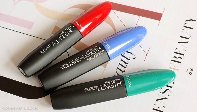 REVLON - MASKARY: ALL IN ONE, SUPER LENGHT, VOLUME + LENGHT [NOWOŚĆ]