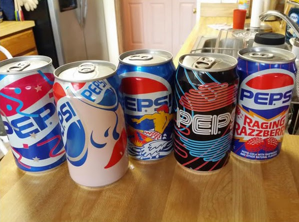 Pepsi from the 1990s