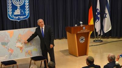 En el nuevo mundo ilustrado por Netanyahu, Israel tiene sólo cinco enemigos