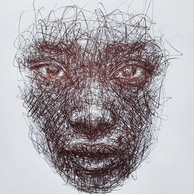 09-Scribble-Portraits-Liz-Y-Ahmet-www-designstack-co