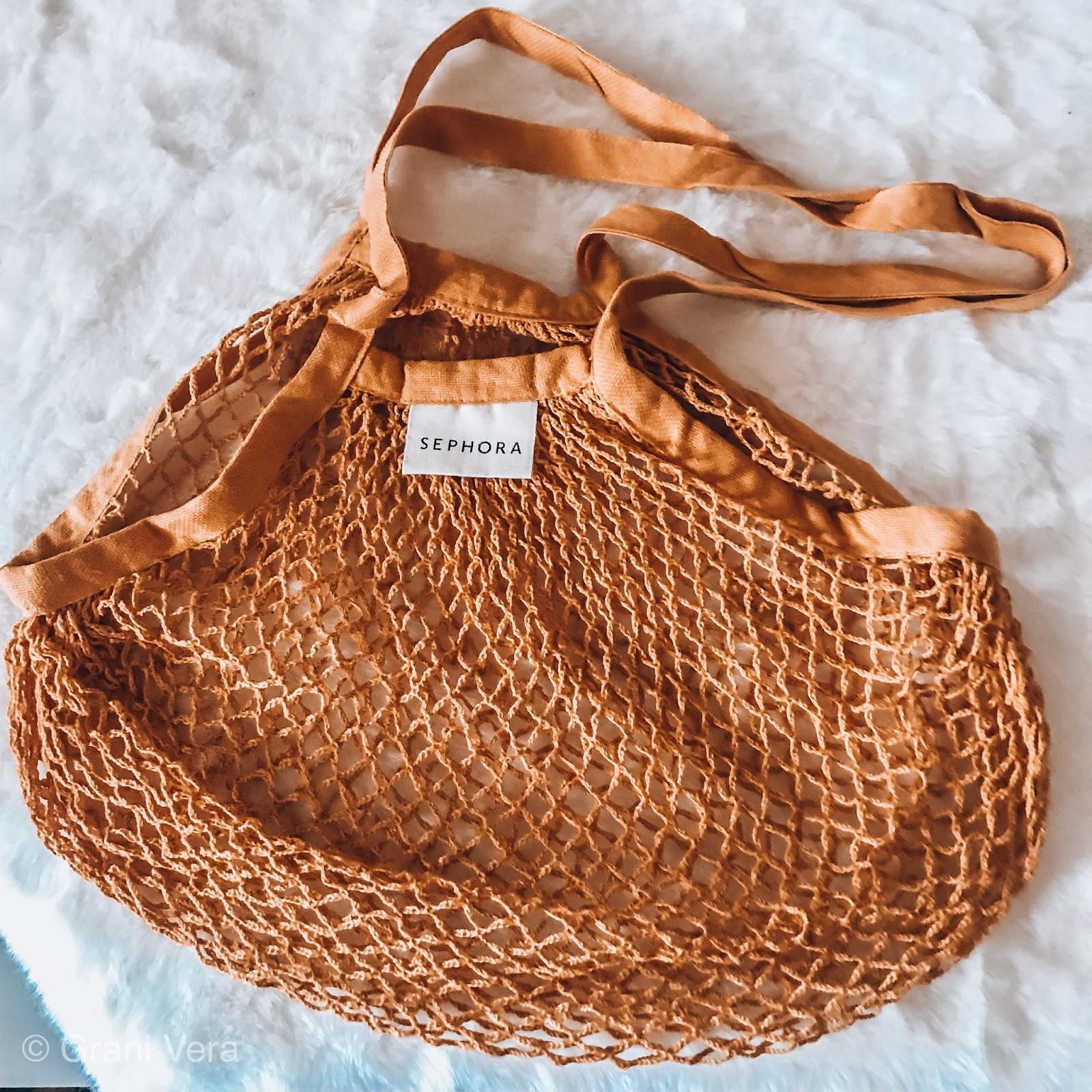 torba siatkowa na zakupy z Sephory