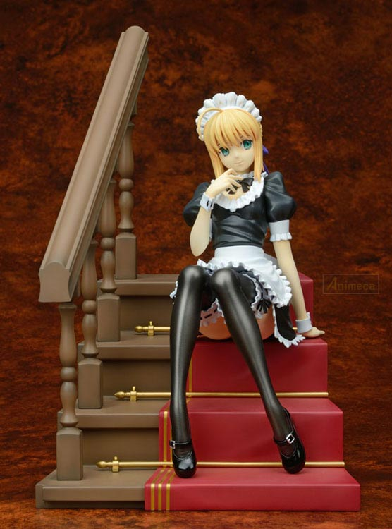 FIGURE SABER Mousou Maid Ver. Fate/hollow ataraxia PLUM